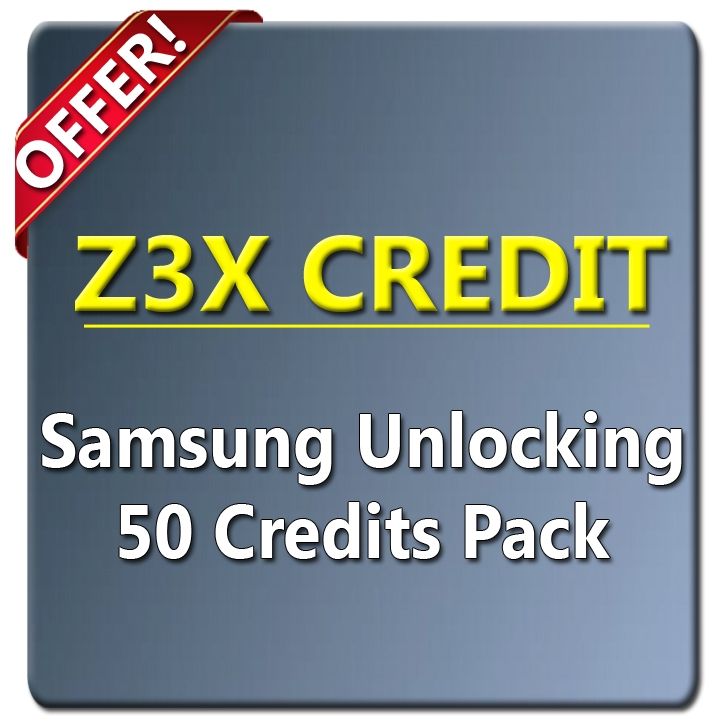 Z3X Unlocking 50 Credits | Give Me Rom